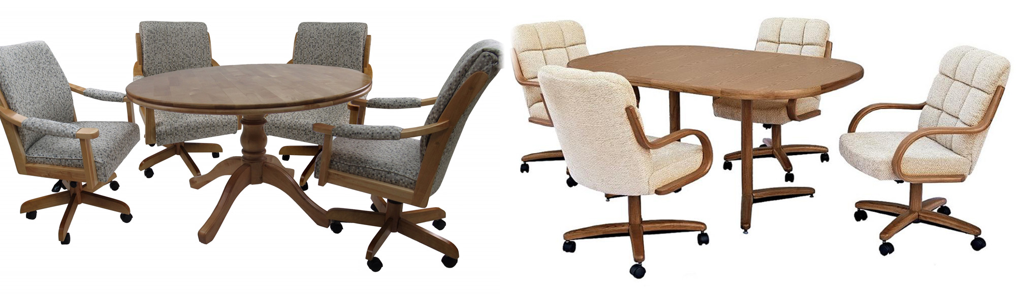 Caster Chairs   Dinettes Unlimited