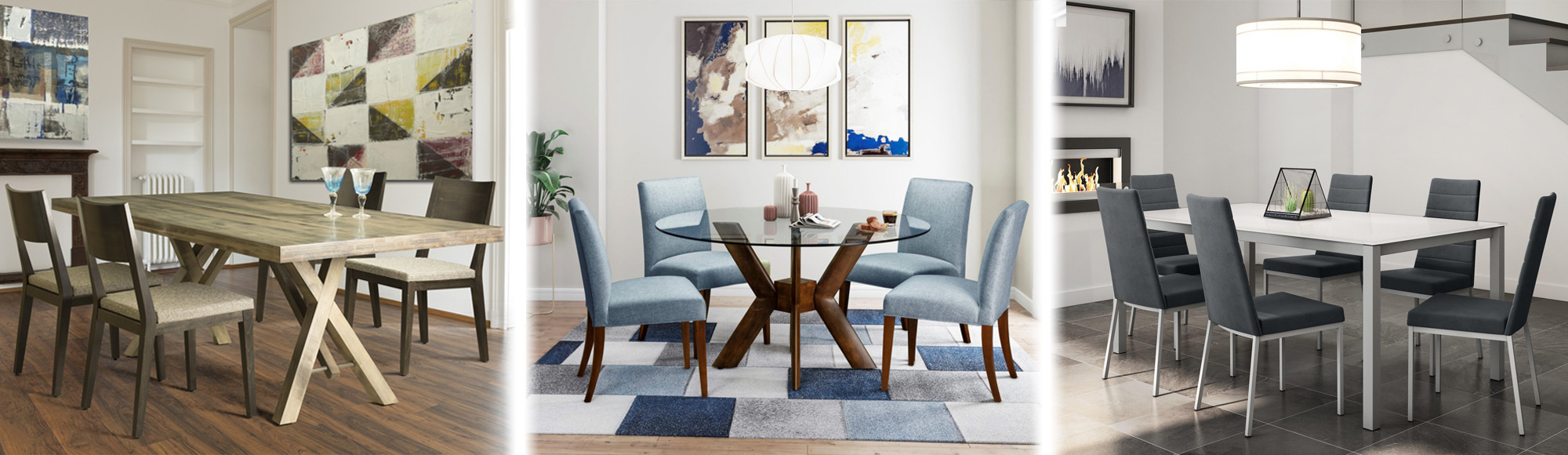 Picture of three casual dining sets