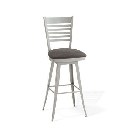 Amisco Edwin Swivel Stool Dinettes Unlimited
