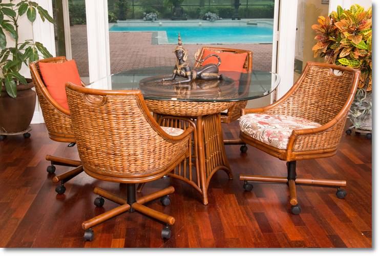 Largest Selection Of Caster Chairs In Florida Dinettes