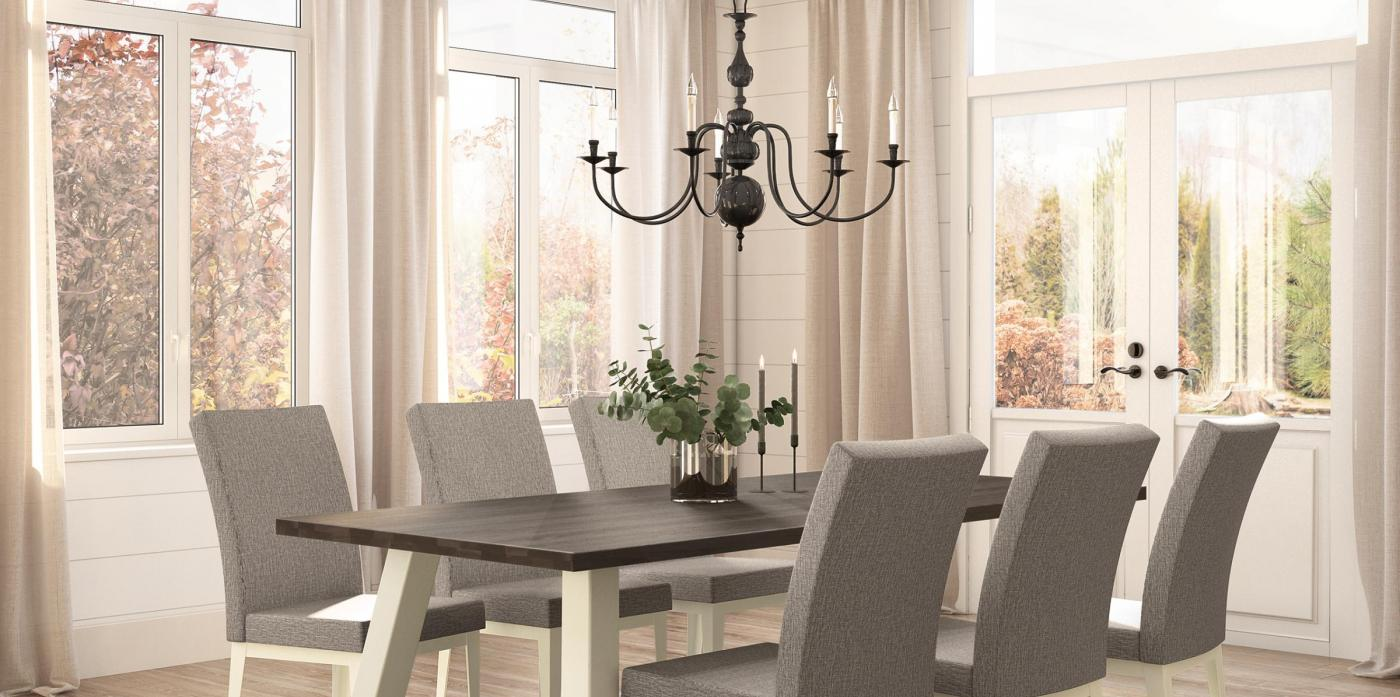 Bennett Table Base with Alto Chair