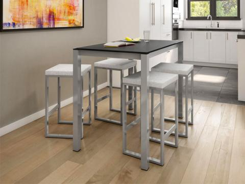 Picture of a bar stool & pub table set