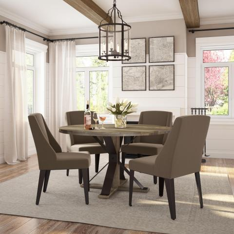 Martina Table With Bridget Chair Dinettes Unlimited