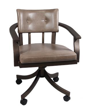 Kingston Swivel Tilt caster Chair