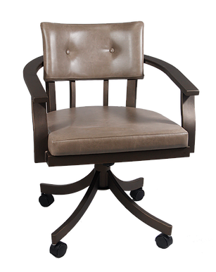 Kingston Swivel Tilt caster Chair