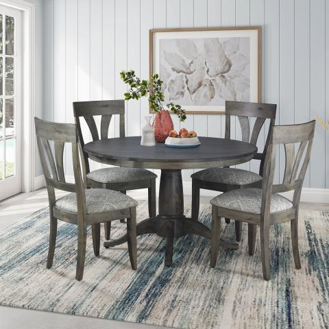 CHELSEA DINING TABLE WITH MODEL 56 SIDE CHAIR