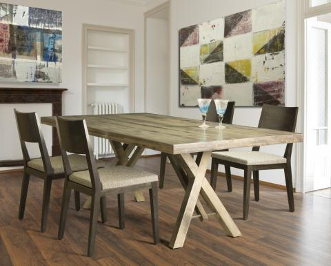 QUINCY TABLE W/ MODEL 14 SIDE CHAIR
