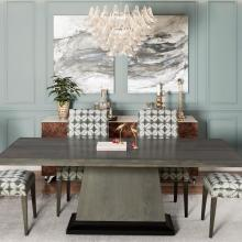 CAPITAL DELUXE DINING TABLE WITH MODEL 60 SIDE CHAIR
