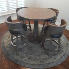 Darafeev Pub Set with Gen Counter Stool