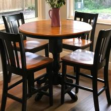 John Thomas Black/ Cherry Counter Set