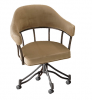 London Swivel Tilt Caster Chair